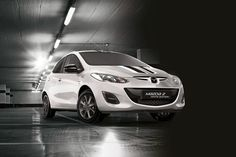 Mazda2 Black Edition and White Edition on sale priced at £12,145