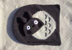 MarieCatmade: Casulo e gorro Bebé Totoro