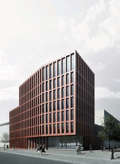 Wohnen am Klagesmarkt // by Architekten BKSP, Hannover (DE)