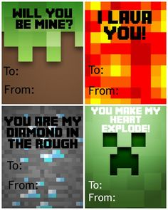 Minecraft Valentines Edited