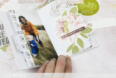 How I Made a Mini Binder Scrapbook in Minutes Set Honey, Mini Binder, Punch Tool, Mini Album Tutorial, Bone Folder, We R Memory Keepers, Heidi Swapp, Book Binding, Project Yourself