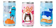 Totally fun new Cozy Cans reusable cups for kids from Beatrix NY. Looks like soda...but they're not.