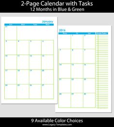 printable 72 months 2 page calendar 2015 2020 5 1 2 x 8 1 2 the calendars are available. Black Bedroom Furniture Sets. Home Design Ideas