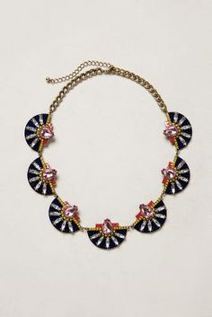 Gorgeous statement necklace for the office - Baublebar Etruscan Petal Necklace #commandress
