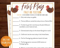 Thanksgiving Family Games, Thanksgiving Facts, Thanksgiving Parties, Peanuts Thanksgiving, Thanksgiving Table, Trivia Games, Party Games, Holiday Games, Holiday Fun