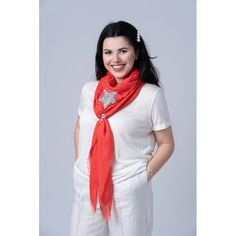 Esarfa Stele Argint/Rosu, Viscoza si Bumbac - Esarfe Patrate Mari - lei59.50 - www.thescarfstreet.com #thescarfstreet #esarfe #esarfa #scarf #fular #moda #modadama #romania #fashion Romania, Fashion, Moda, Fashion Styles, Fasion