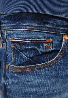 Hilfiger Denim STRAIGHT RYAN - Straight leg jeans - blue denim - Zalando.co.uk