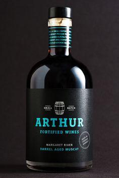 Arthur Wines Muscat — The Dieline - Branding & Packaging