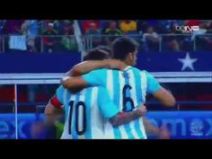 Lionel Messi Amazing Goal - Argentina vs Mexico 2-2 - YouTube