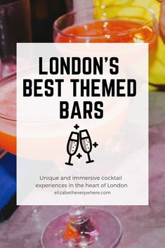 London's nightlife scene is always evolving, and immersive experiences are the latest trend in the UK capital. These are the best themed bars in London. London Nightlife, Houston Nightlife, Nightlife Travel, Ibiza, Old Western Movies, Uk Capital, Bars And Clubs, Nyc, Sagrada Familia
