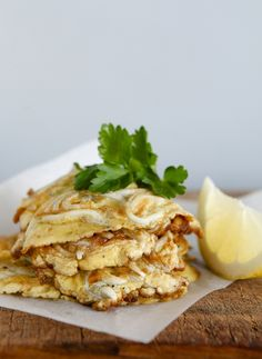 Best Ever NZ Whitebait Fritters ~ Lauraine Jacobs