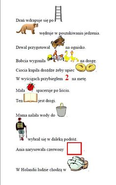 Zdania z obrazkami- połącznie [dr] - Domologo. Polish Language, Speech And Language, Pre School, Speech Therapy, Children, Kids, Teaching, Writing, Humor