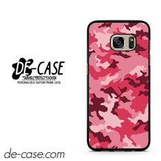 Pink Camouflage DEAL-8649 Samsung Phonecase Cover For Samsung Galaxy S7 / S7 Edge