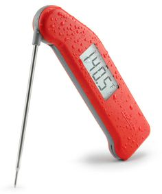 This super-fast and super-accurate meat thermometer takes the guesswork out of roasting your Thanksgiving turkey.