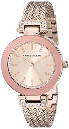 29d2c6dbc13 Great gift idea Anne Klein Women s AK 1906RGRG Swarovski Crystal Accented  Rose Gold-Tone