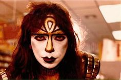 Vinnie Vincent, Hot Band, Creatures Of The Night, Kiss, Halloween Face Makeup, Music, Musica, Musik, A Kiss