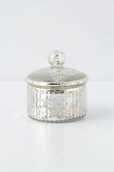 Monarch Mercury Jar, short - Anthropologie  *living room hutch