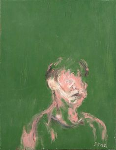 Portrait of AM, 1992, 46cm x 35cm. Oil on canvas.