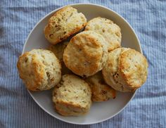 Parmesan and Pine Nut Biscuits