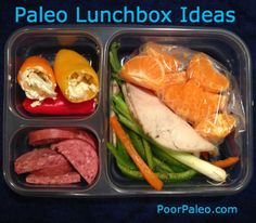 Paleo Adult Lunch box ideas! Check them out! Primal, grain free, gluten free, healthy, easy!