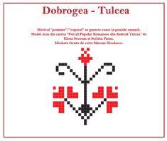 Modele de cusaturi traditionale din Dobrogea | Simona Moon Projects To Try, Cross Stitch, Embroidery, Knitting, Logos, Model, Romania, 1 Decembrie, Yogurt