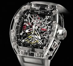 Richard Mille RM56 Watch Is An All-Sapphire Masterpiece