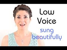 Freya\'s Singing Tips: How to sing in your LOW VOICE beautifully