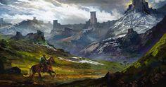 The Legend of Zelda by karlfitzgeraldart