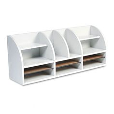 Radius Front Desktop Organizer, 12 Sections, 38 1/2 x 9 5/8 x 15 1/4, Gray Safco,http://www.amazon.com/dp/B004DH6XTI/ref=cm_sw_r_pi_dp_xJJqsb02MKYCY1F5