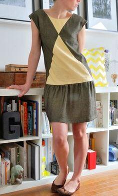 Aime comme Mix en robe - j'adore les couleurs !
