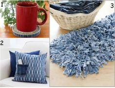 Creative ideas to do with old jeans