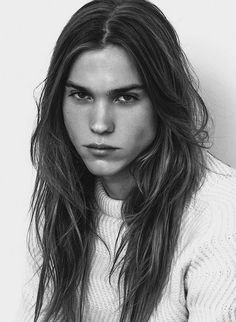 Long Hairstyle and Fashion.  Andersson by Javier Tomas Biosca