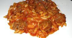Kritharaki, Arpa Sehriye,turkse recepten,griekse recepten,wereldkeuken,recepten wereldkeuken