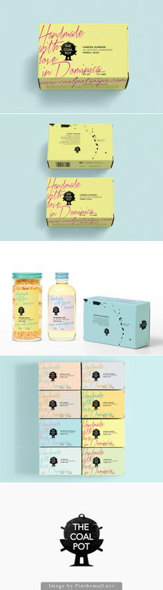 The Coal Pot. Handmade with love in Dominica #packaging PD - created via http://bpando.org/2013/12/03/packaging-the-coal-pot/