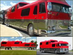 Pat McNeal's awesome Greyhound Scenicruiser RV conversion.