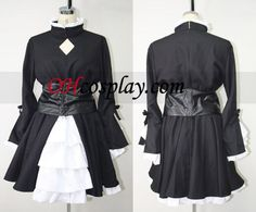 Saber Black Cosplay Costume (Hollow Ataraxia) from Fate Stay Night