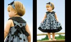 Resultado de imagem para modelos de vestidos infantis