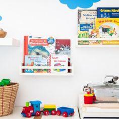 Kinderbücher organisieren und das ideale Bücherregal für Kleinkinder