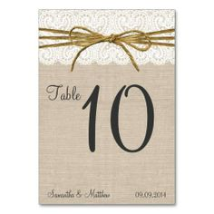 $$$ This is great for          Ivory Lace & Rustic Twine Bow Burlap Table Numbers Table Card           Ivory Lace & Rustic Twine Bow Burlap Table Numbers Table Card we are given they also recommend where is the best to buyReview          Ivory Lace & Rustic Twine Bow Burlap Tabl...Cleck Hot Deals >>> http://www.zazzle.com/ivory_lace_rustic_twine_bow_burlap_table_numbers_table_card-256691535903733337?rf=238627982471231924&zbar=1&tc=terrest