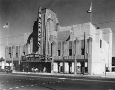 Warner Huntington Park, California. Opening Day. 1932