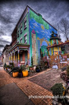The Mexican War Streets:   Located on Pittsburgh's North Side, in the heart of the former City of Allegheny, the Mexican War Streets is designated both federally and by the City of Pittsburgh as a historic Victorian-era district.