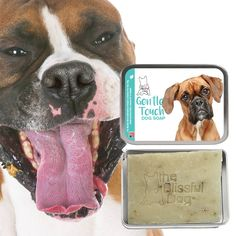 BOXER Gentle Touch Dog Soap Handcrafted All Natural Good Stuff Unscented for Boxer Puppies & Adult Dogs with Sensitive Skin by TheBlissfulDog on Etsy