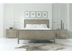 Hickory White 155-22 Bedroom King Panel Bed Hickory White Bedroom Furniture, Oak Bedroom, Discount Furniture Stores, Goods Home Furnishings, California King Bedding, Entertainment Furniture, Bed Wall, Panel Bed, White Bedding