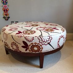 Large contemporary footstool - John Lewis