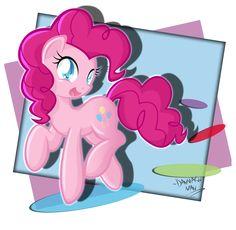 Pinkie Pie by DANMAKUMAN