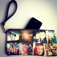 Sweet Memorial Idea: Instagram Pillows, Purses, and Totes