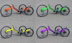 Paint your Warrior trike your favorite color.