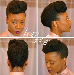 22 Trendy holiday hairstyles for black women hair care