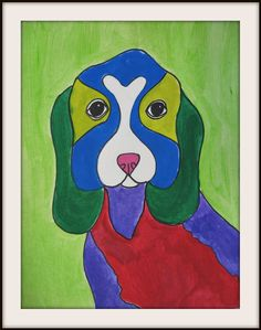 MaryMaking: Ron Burns Inspired Dogs