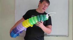 Гусеница из шаров для моделирования (ШДМ)